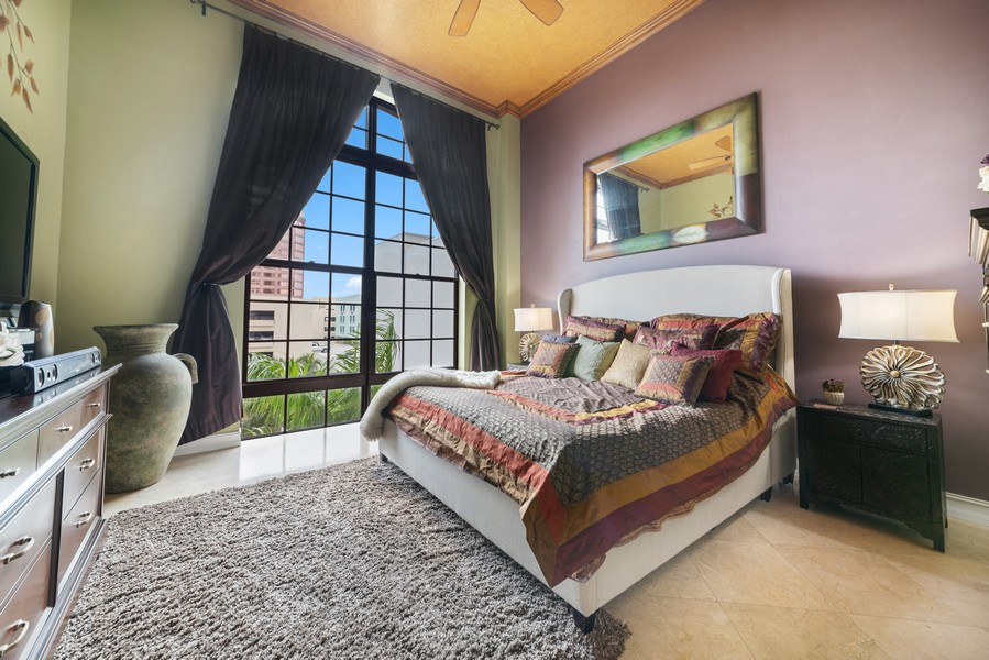 Real Estate Photography - 701 S. Olive Ave,, #314, West Palm Beach, FL, 33401 - Master Bedroom