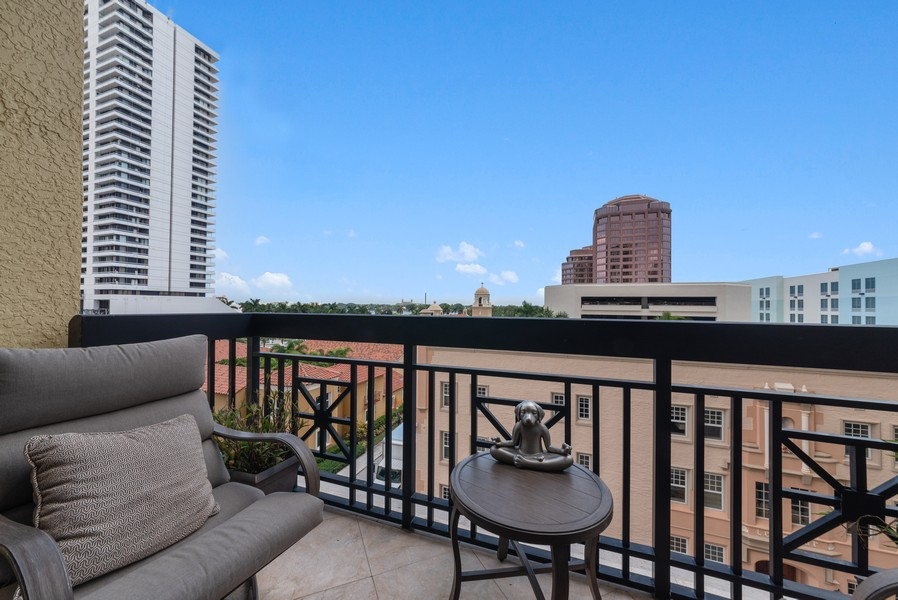 Real Estate Photography - 701 S. Olive Ave,, #314, West Palm Beach, FL, 33401 - Terrace 2