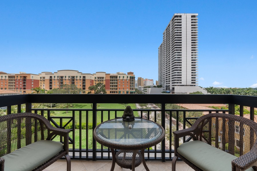 Real Estate Photography - 701 S. Olive Ave,, #314, West Palm Beach, FL, 33401 - Terrace 3
