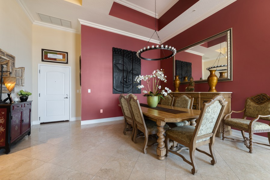 Real Estate Photography - 701 S. Olive Ave,, #314, West Palm Beach, FL, 33401 - Foyer/Dining Room