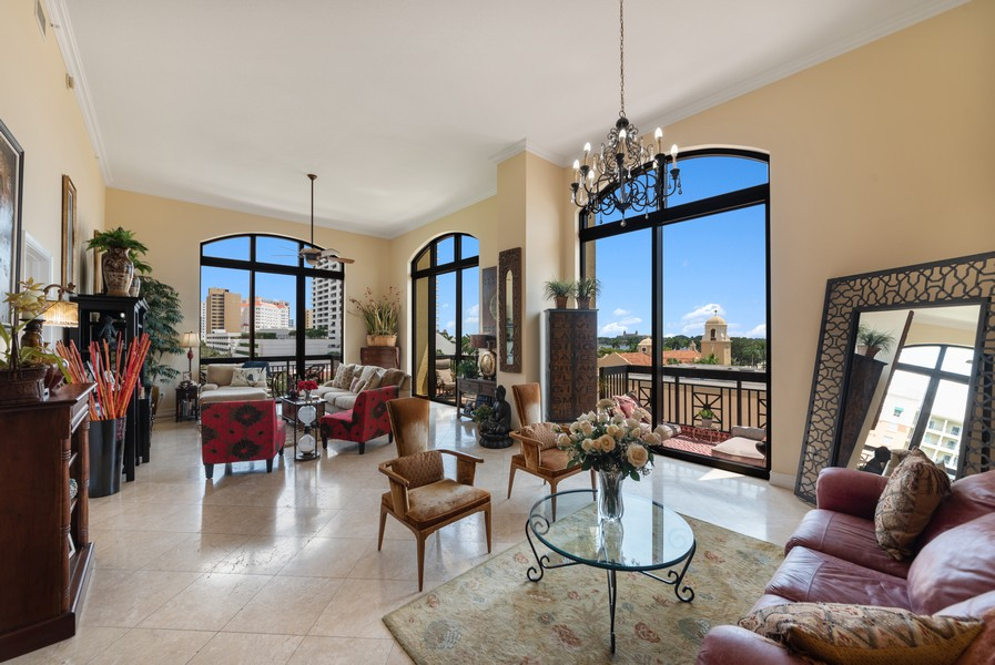 Real Estate Photography - 701 S. Olive Ave,, #314, West Palm Beach, FL, 33401 - Living Rm/Family Rm
