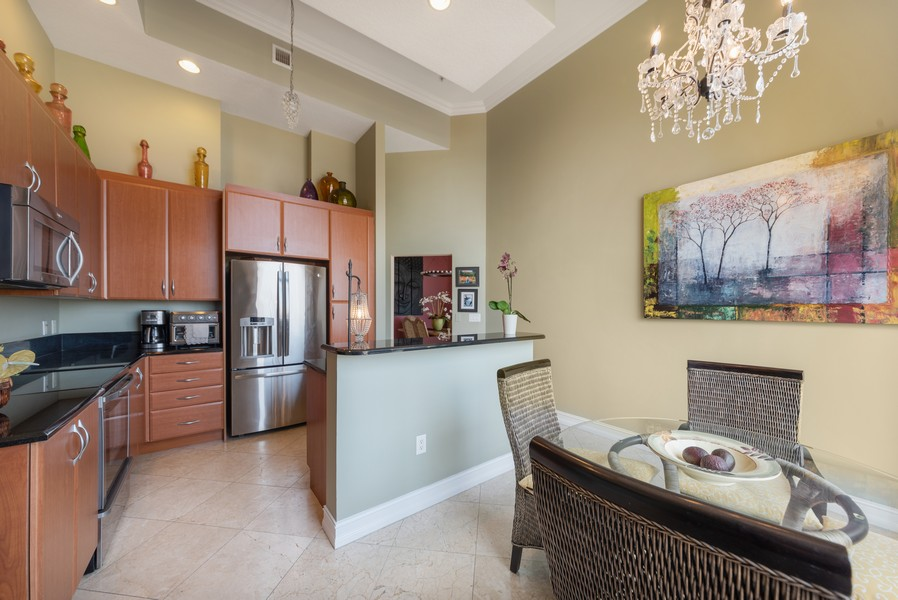 Real Estate Photography - 701 S. Olive Ave,, #314, West Palm Beach, FL, 33401 - Kitchen / Breakfast Room