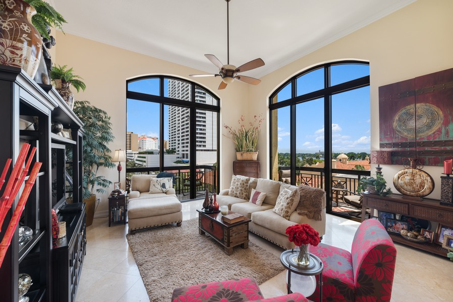 Real Estate Photography - 701 S. Olive Ave,, #314, West Palm Beach, FL, 33401 - Family Room
