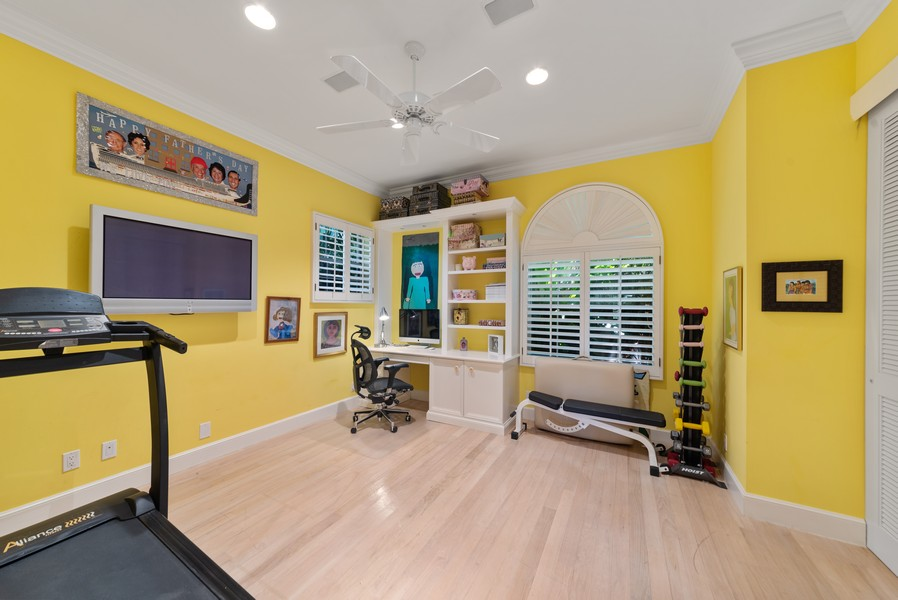 Real Estate Photography - 1314 Breakers West Blvd, West Palm Beach, FL, 33411 - 4th Bedroom