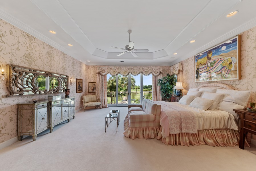 Real Estate Photography - 1314 Breakers West Blvd, West Palm Beach, FL, 33411 - Master Bedroom