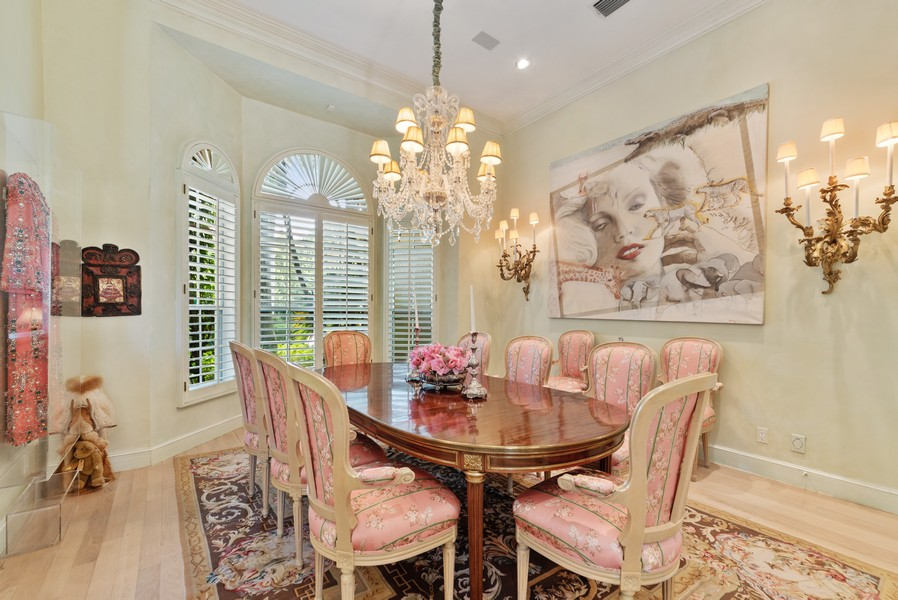 Real Estate Photography - 1314 Breakers West Blvd, West Palm Beach, FL, 33411 - Dining Room