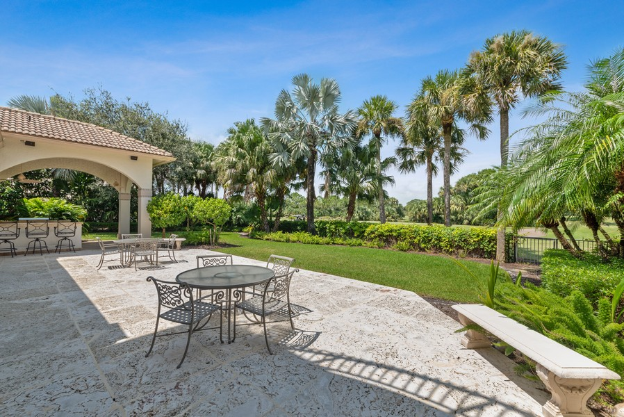 Real Estate Photography - 1314 Breakers West Blvd, West Palm Beach, FL, 33411 - Back Yard