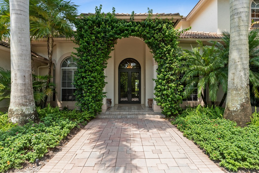 Real Estate Photography - 1314 Breakers West Blvd, West Palm Beach, FL, 33411 - Entrance