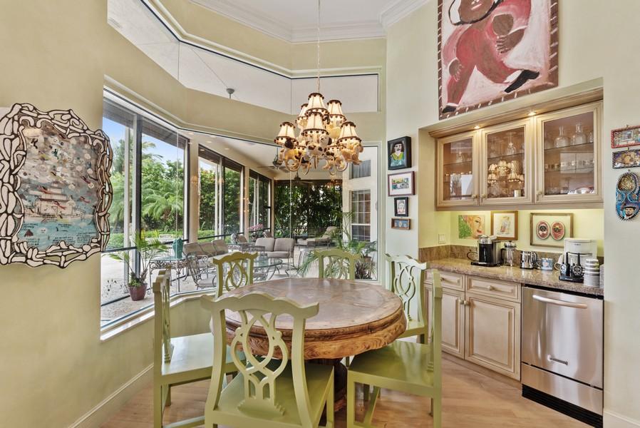 Real Estate Photography - 1314 Breakers West Blvd, West Palm Beach, FL, 33411 - Breakfast Area