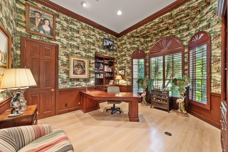 Real Estate Photography - 1314 Breakers West Blvd, West Palm Beach, FL, 33411 - Office