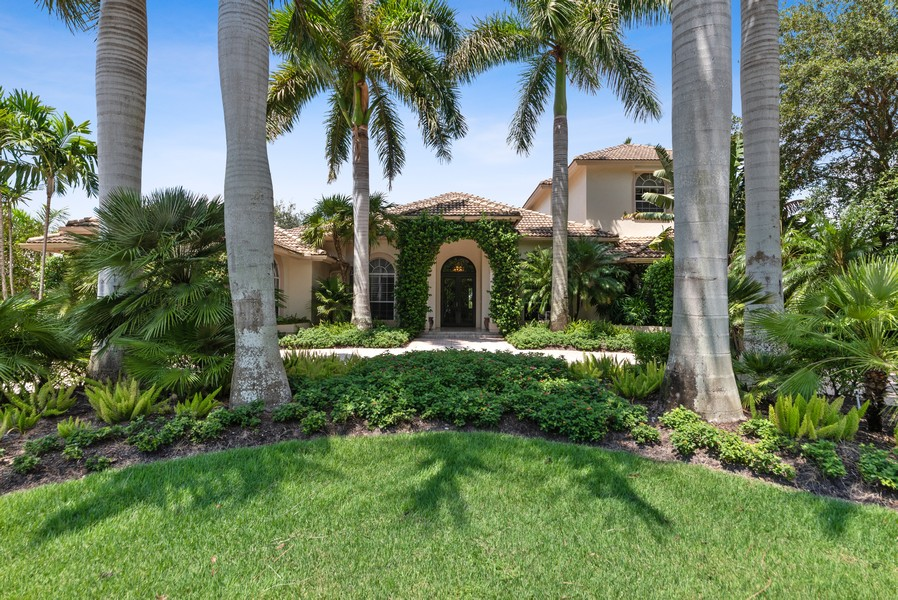 Real Estate Photography - 1314 Breakers West Blvd, West Palm Beach, FL, 33411 - Front View
