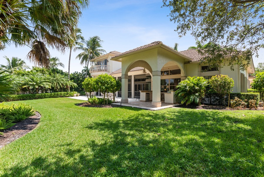 Real Estate Photography - 1314 Breakers West Blvd, West Palm Beach, FL, 33411 - Rear View