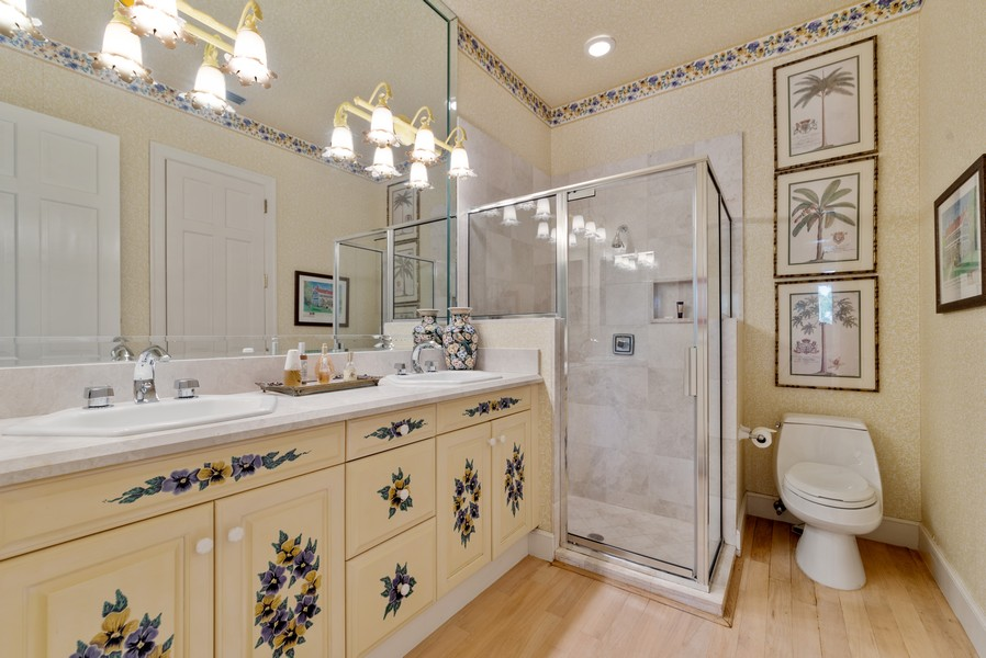 Real Estate Photography - 1314 Breakers West Blvd, West Palm Beach, FL, 33411 - Bathroom