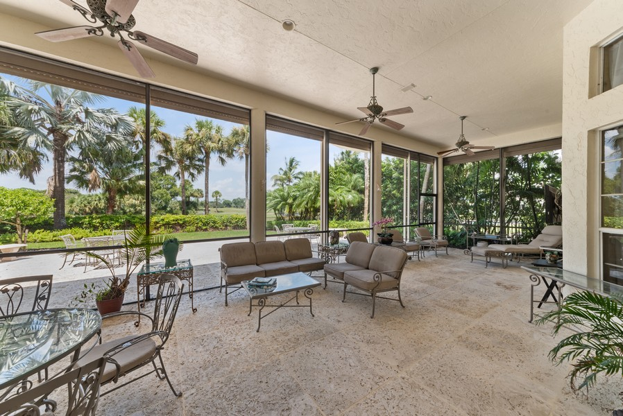 Real Estate Photography - 1314 Breakers West Blvd, West Palm Beach, FL, 33411 - Patio