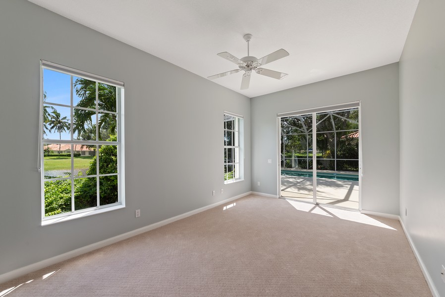 Real Estate Photography - 7210 Crystal Lake Drive, West Palm Beach, FL, 33411 - 2nd Bedroom