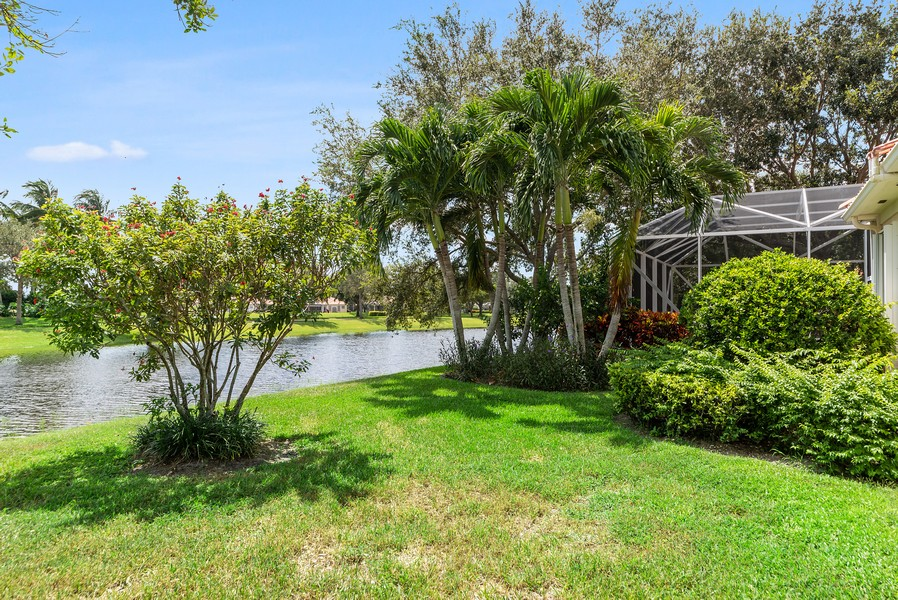 Real Estate Photography - 7210 Crystal Lake Drive, West Palm Beach, FL, 33411 - Back Yard
