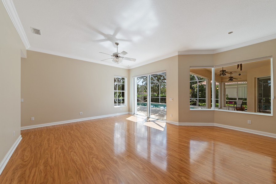 Real Estate Photography - 7210 Crystal Lake Drive, West Palm Beach, FL, 33411 - Family Room