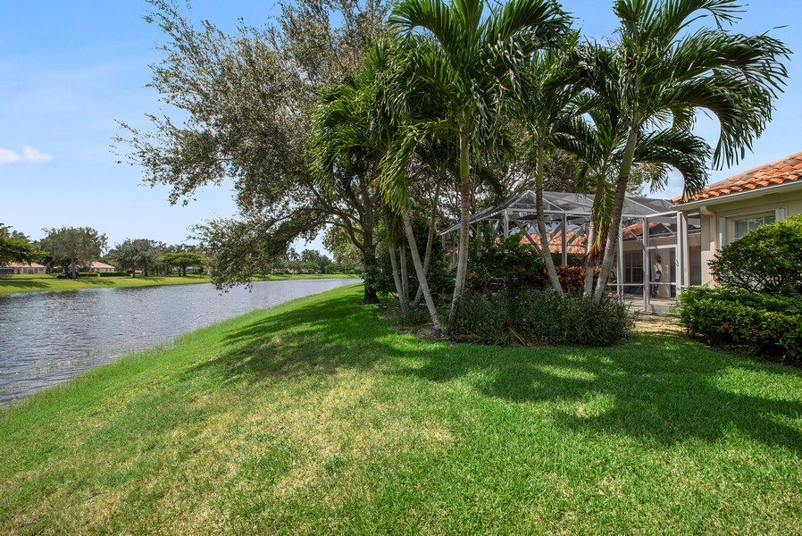 Real Estate Photography - 7210 Crystal Lake Drive, West Palm Beach, FL, 33411 - Side View