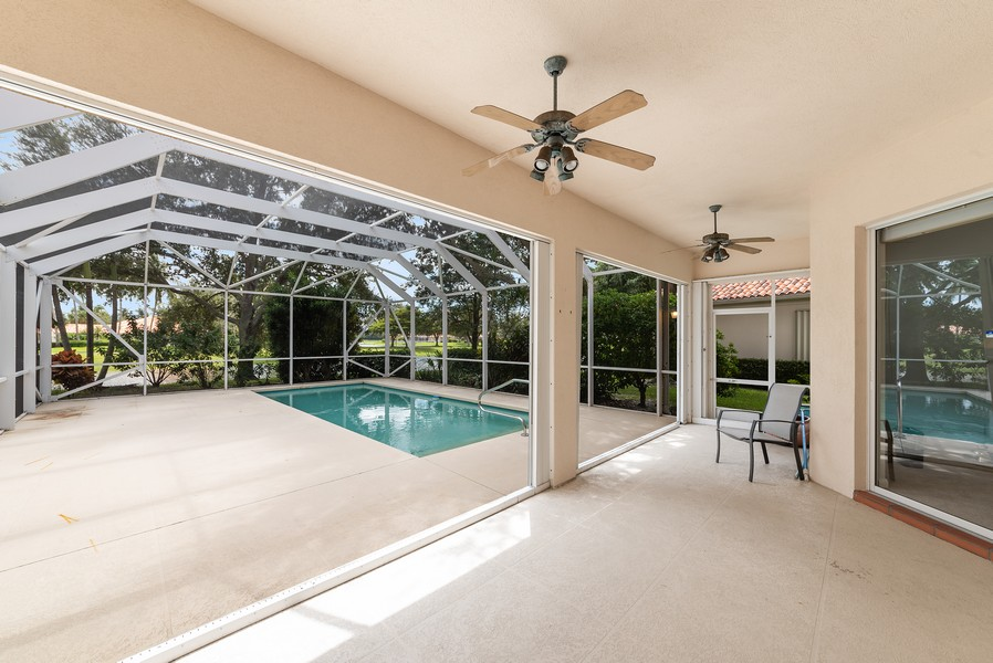 Real Estate Photography - 7210 Crystal Lake Drive, West Palm Beach, FL, 33411 - Patio