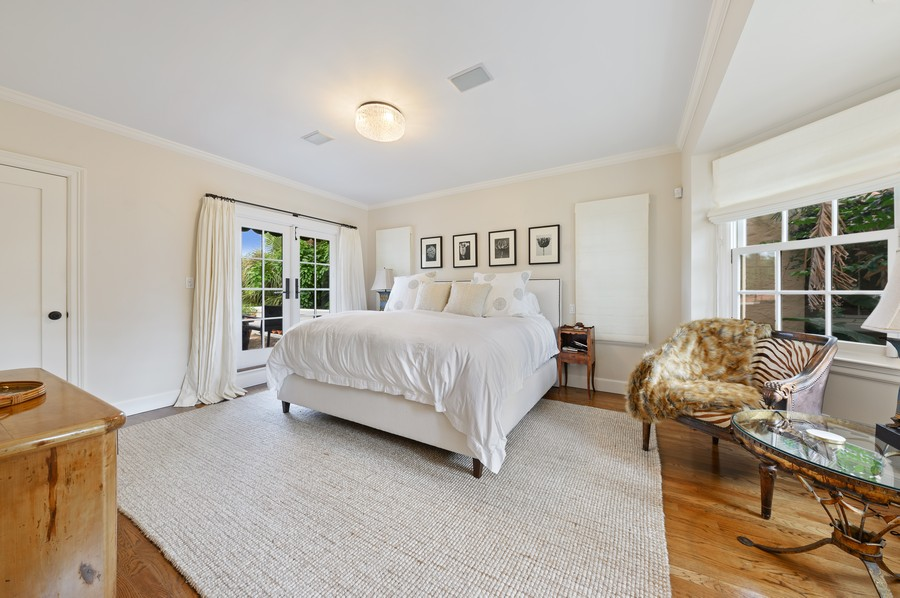Real Estate Photography - 2415 Aravale Road, West Palm Beach, FL, 33401 - Master Bedroom