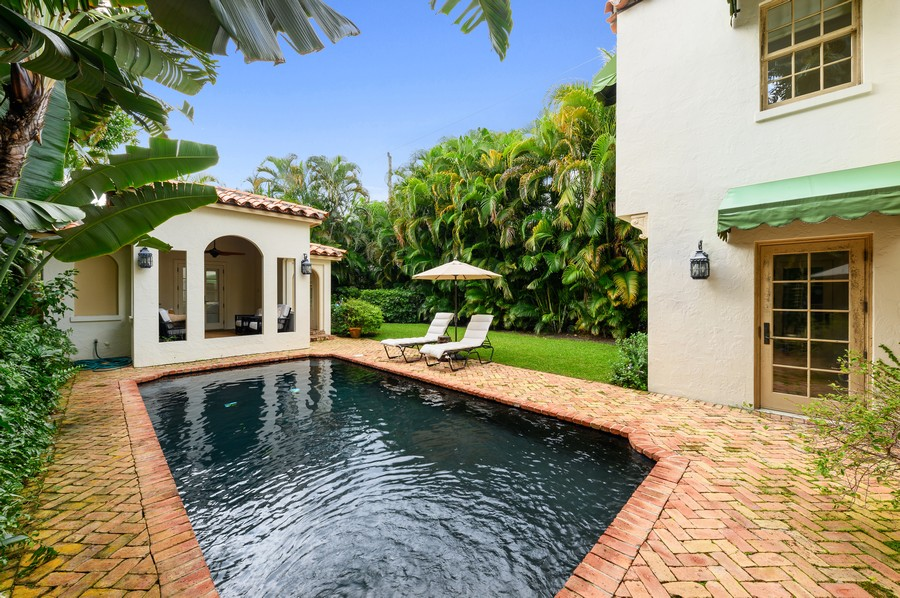 Real Estate Photography - 2415 Aravale Road, West Palm Beach, FL, 33401 - Pool