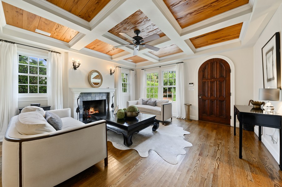 Real Estate Photography - 2415 Aravale Road, West Palm Beach, FL, 33401 - Family Room