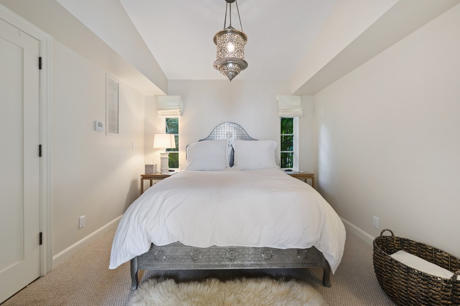 Real Estate Photography - 2415 Aravale Road, West Palm Beach, FL, 33401 - Guest House Bedroom