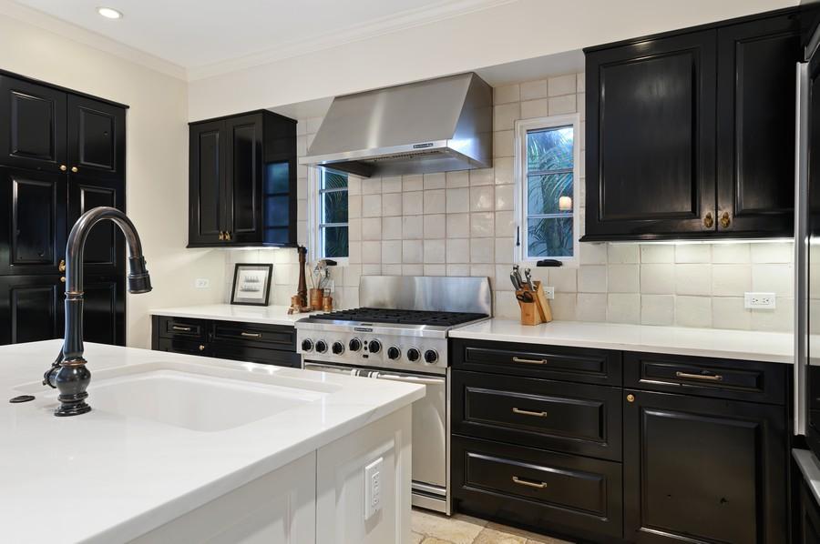 Real Estate Photography - 2415 Aravale Road, West Palm Beach, FL, 33401 - Kitchen