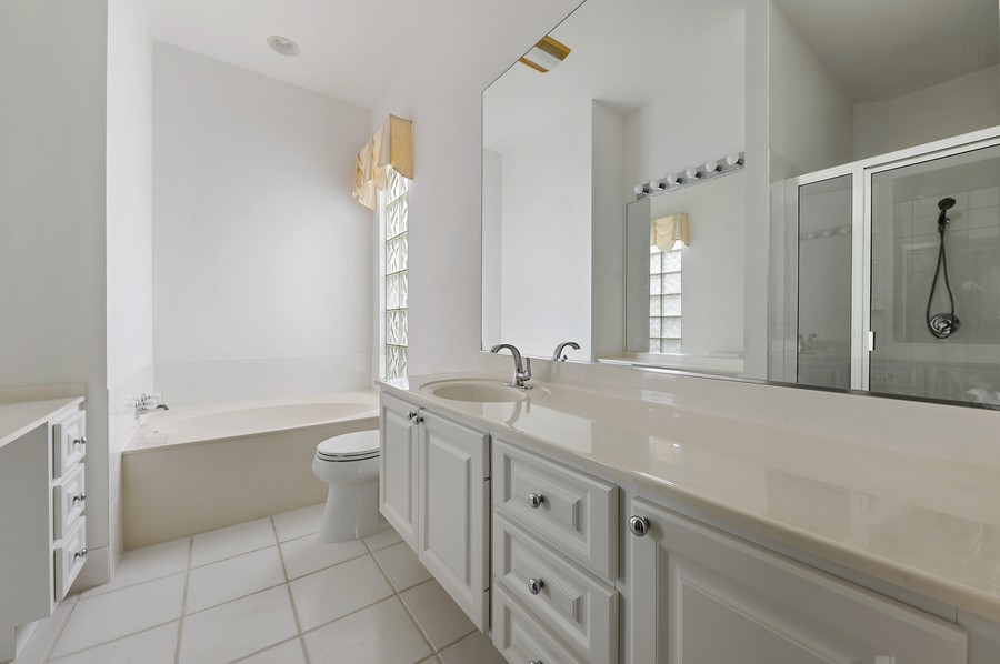 Real Estate Photography - 2847 Irma Lake Drive, West Palm Beach, FL, 33411 - Master Bathroom