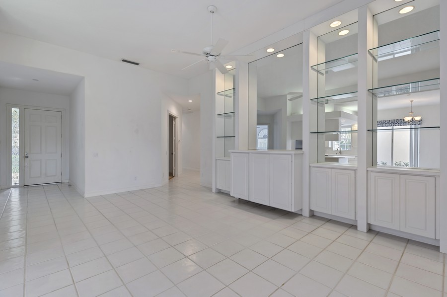 Real Estate Photography - 2847 Irma Lake Drive, West Palm Beach, FL, 33411 - Foyer/Living Room