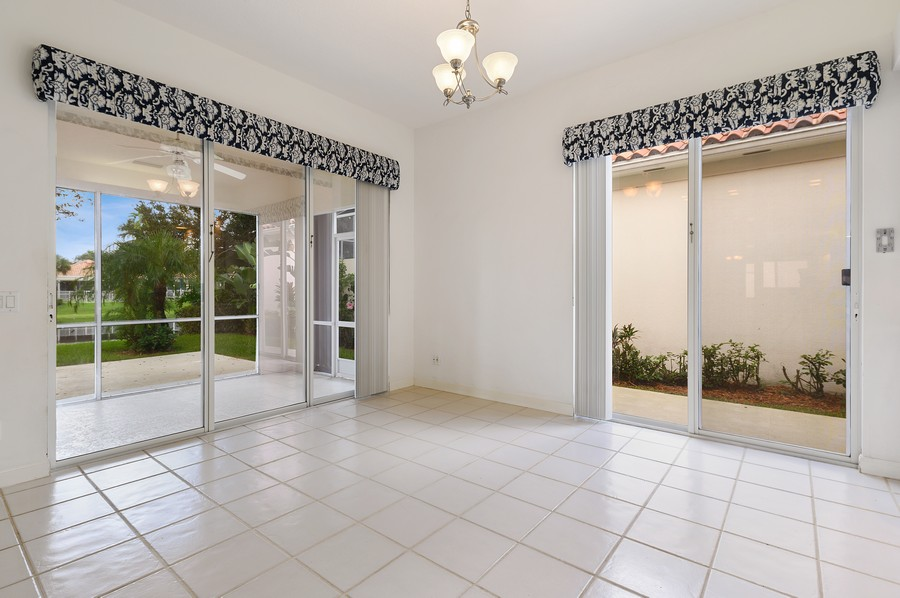 Real Estate Photography - 2847 Irma Lake Drive, West Palm Beach, FL, 33411 - Dining Room