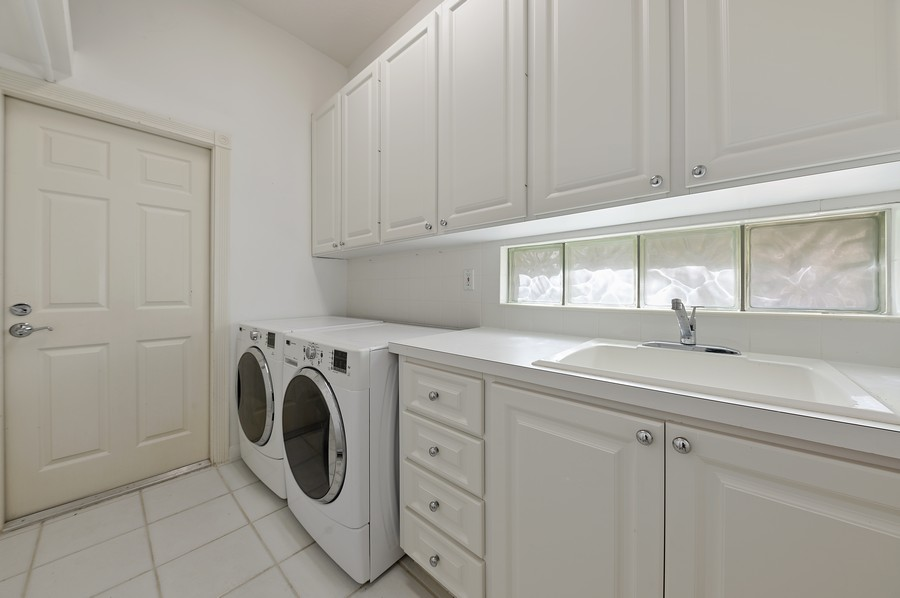 Real Estate Photography - 2847 Irma Lake Drive, West Palm Beach, FL, 33411 - Laundry Room