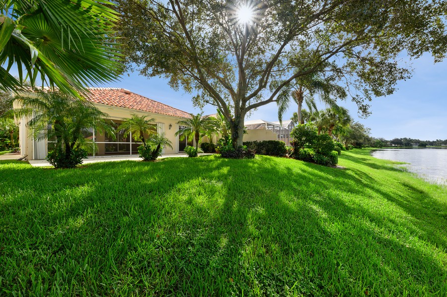 Real Estate Photography - 2847 Irma Lake Drive, West Palm Beach, FL, 33411 - Side View