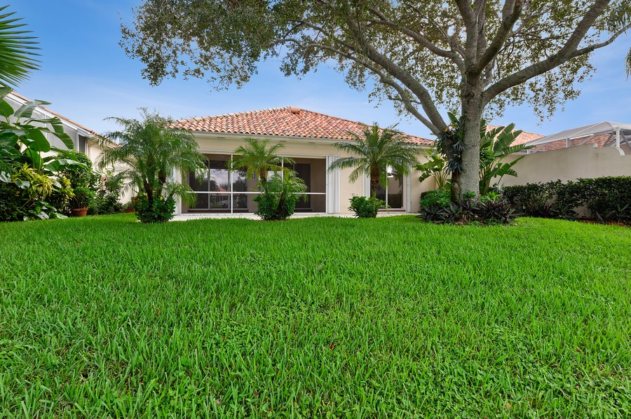 Real Estate Photography - 2847 Irma Lake Drive, West Palm Beach, FL, 33411 - Rear View