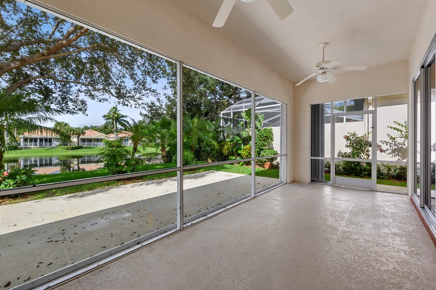 Real Estate Photography - 2847 Irma Lake Drive, West Palm Beach, FL, 33411 - Patio