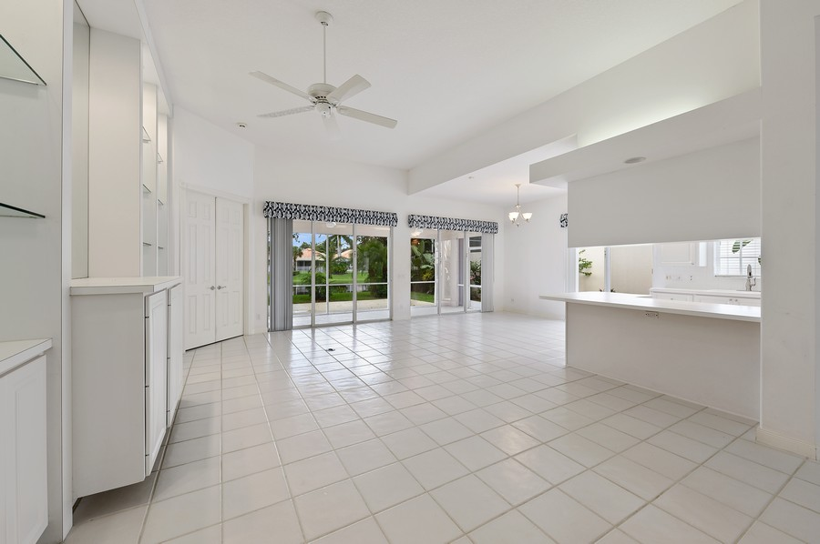 Real Estate Photography - 2847 Irma Lake Drive, West Palm Beach, FL, 33411 - Living Room / Dining Room
