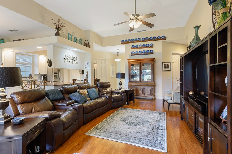 Real Estate Photography - 7816 Red River Road, West Palm Beach, FL, 33411 - Living Room