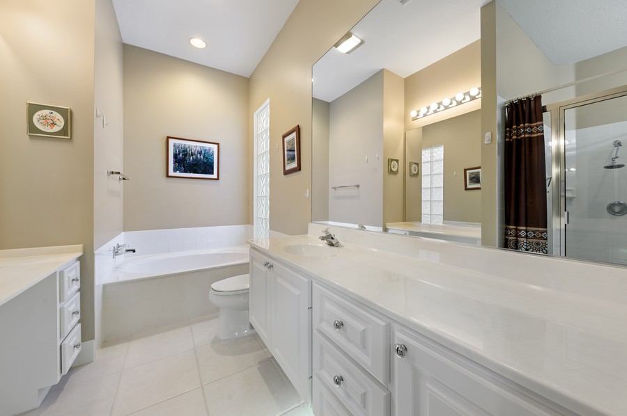 Real Estate Photography - 7816 Red River Road, West Palm Beach, FL, 33411 - Master Bathroom
