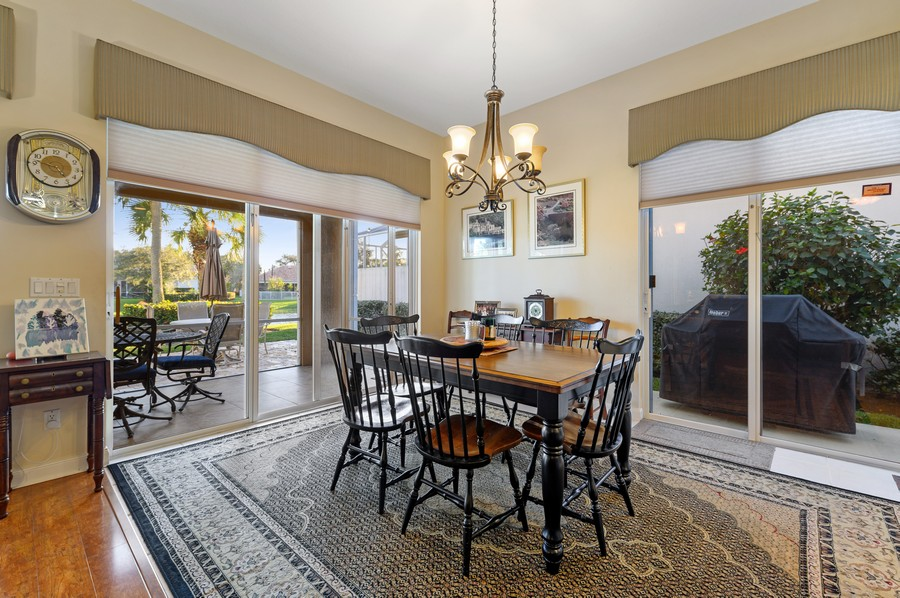 Real Estate Photography - 7816 Red River Road, West Palm Beach, FL, 33411 - Dining Room