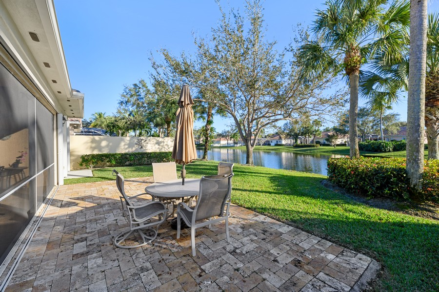 Real Estate Photography - 7816 Red River Road, West Palm Beach, FL, 33411 - Back Yard