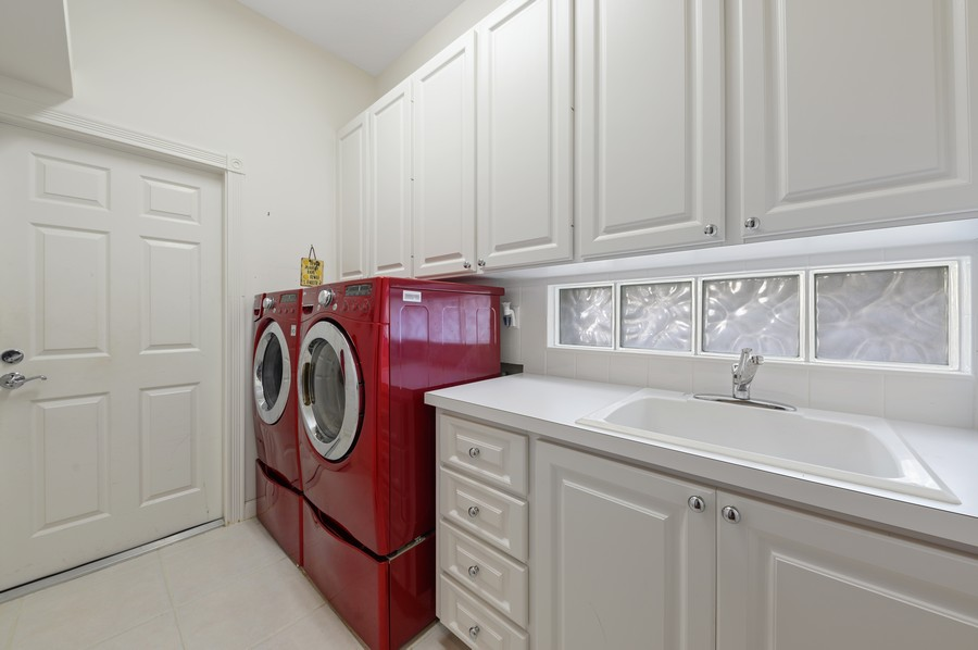 Real Estate Photography - 7816 Red River Road, West Palm Beach, FL, 33411 - Laundry Room