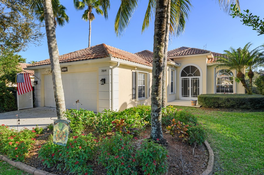 Real Estate Photography - 7816 Red River Road, West Palm Beach, FL, 33411 - Front View