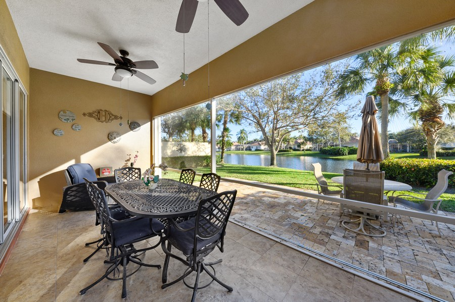 Real Estate Photography - 7816 Red River Road, West Palm Beach, FL, 33411 - Patio