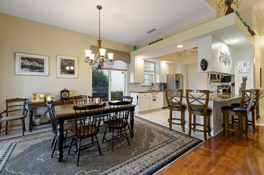 Real Estate Photography - 7816 Red River Road, West Palm Beach, FL, 33411 - Kitchen / Dining Room