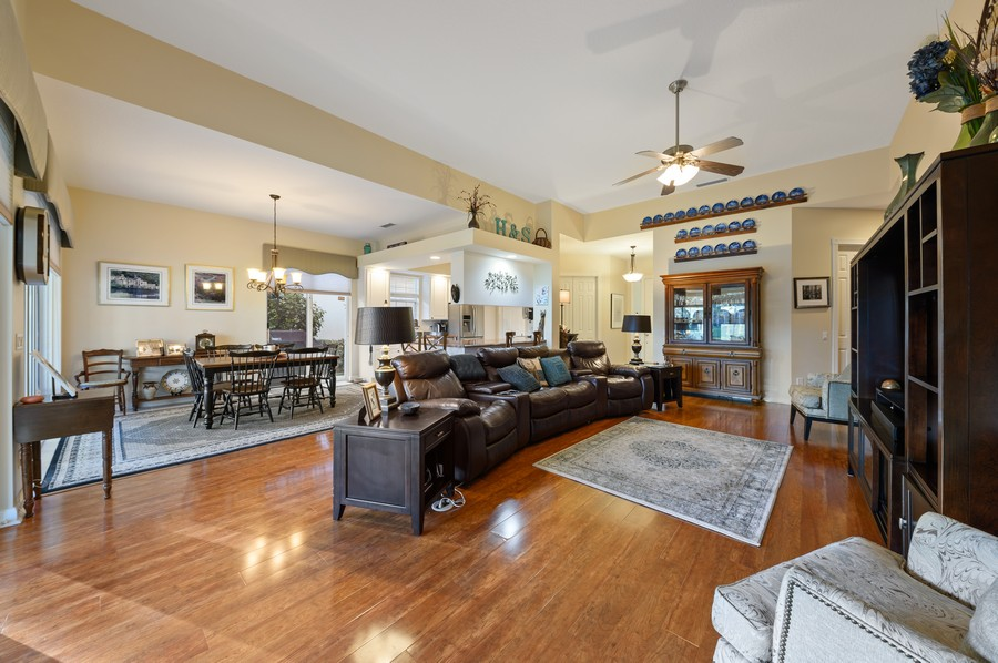 Real Estate Photography - 7816 Red River Road, West Palm Beach, FL, 33411 - Living Room / Dining Room