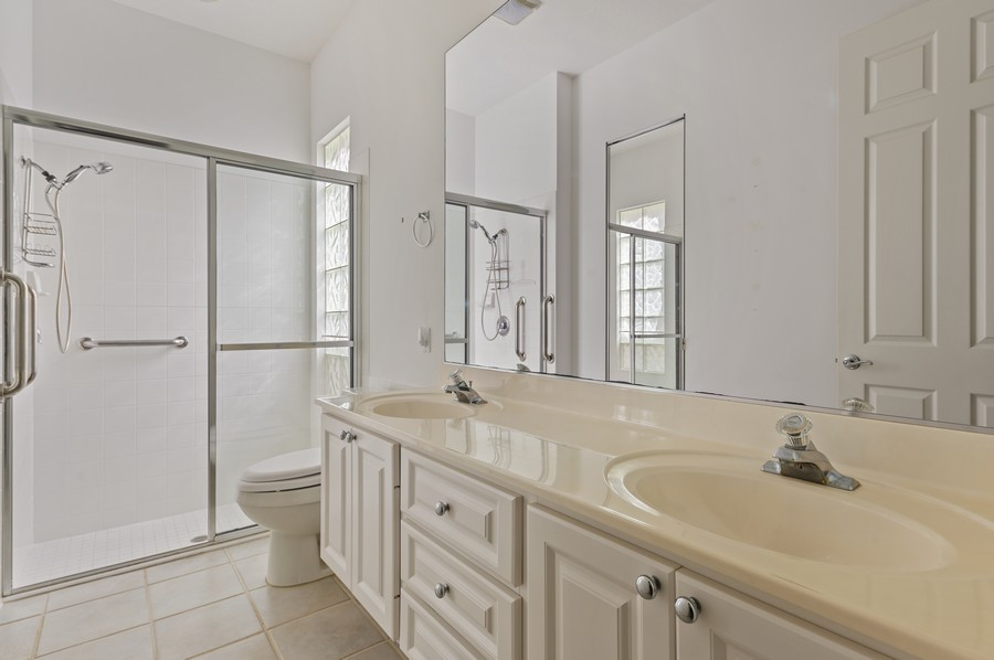Real Estate Photography - 2741 James River Road, West Palm Beach, FL, 33411 - Master Bathroom