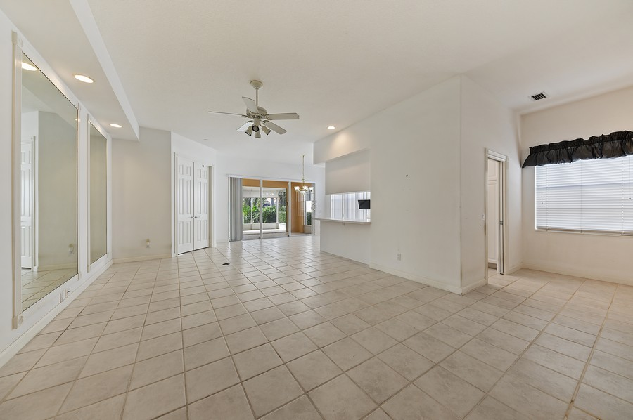 Real Estate Photography - 2741 James River Road, West Palm Beach, FL, 33411 - Living Room / Dining Room
