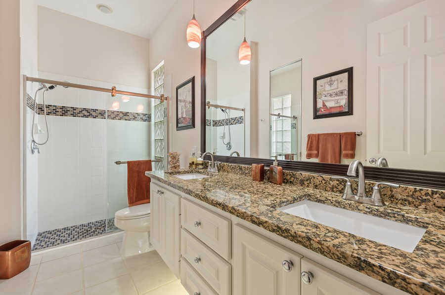 Real Estate Photography - 2746 James River Road, West Palm Beach, FL, 33411 - Master Bathroom