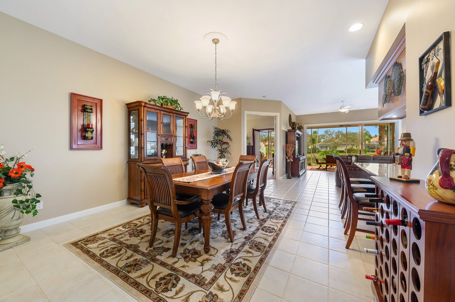 Real Estate Photography - 2746 James River Road, West Palm Beach, FL, 33411 - Dining Room