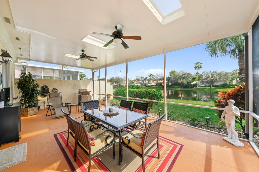 Real Estate Photography - 2746 James River Road, West Palm Beach, FL, 33411 - Patio